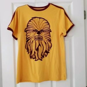 Chewbacca Star Wars Mens Graphic Tee Medium